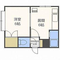 ダイアナ麻生マンション[3階]の間取り
