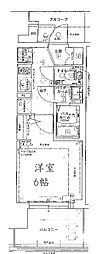 エステムプラザ福島ジェネル[10階]の間取り
