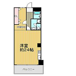 西中島ホワイトハイツ[5階]の間取り
