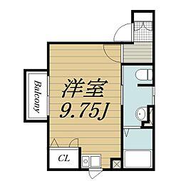 メゾンフルール(佐倉)[1階]の間取り