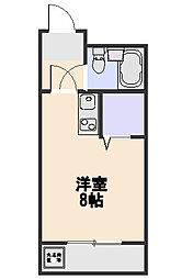 煉瓦館66[105号室]の間取り