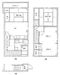 谷村マンション[2階]の間取り