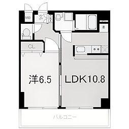 エナブル塚本II[206号室]の間取り