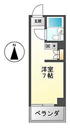ラフィネ新栄[2階]の間取り