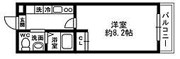 chez-soi[203号室]の間取り