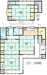 [一戸建] 長野県上田市常磐城4丁目 の賃貸【/】の間取り