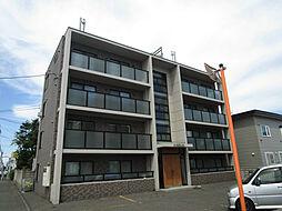 北海道札幌市北区屯田四条6丁目の賃貸マンションの外観