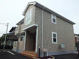 静岡県富士宮市舞々木町の賃貸アパートの外観