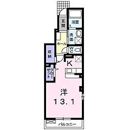 シ−ガ−ディアンII[1階]の間取り