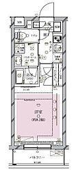 東京都目黒区碑文谷3丁目の賃貸マンションの間取り