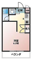 チャイナベル[2階]の間取り