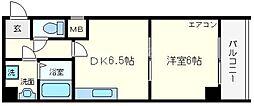 リビエール増井[3階]の間取り
