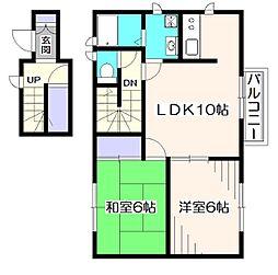 メゾン泉[2階]の間取り