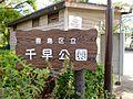 【公園】千早公...