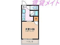 サープラスオクノ[2階]の間取り
