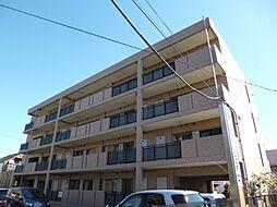 東京都羽村市緑ヶ丘5丁目の賃貸マンションの外観
