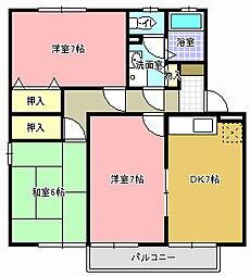 グランドソレイユ C[2階]の間取り