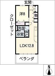 SK'BUILDING−3[4階]の間取り