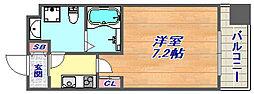 Grandi Rokko Park 5階1Kの間取り