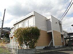 滋賀県大津市坂本6の賃貸アパートの外観