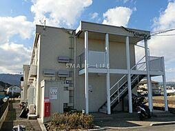 滋賀県大津市雄琴5丁目の賃貸アパートの外観