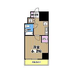 スパシエ八王子クレストタワー[2階]の間取り