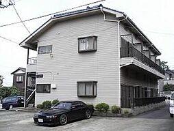 神奈川県川崎市多摩区栗谷4の賃貸アパートの外観