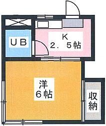 花月荘[2階]の間取り