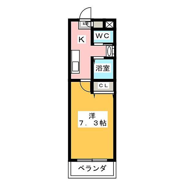 A・City七条[3階]の間取り
