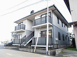 新潟県新潟市江南区東本町1丁目の賃貸アパートの外観