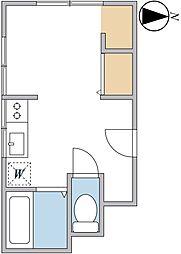 羽鳥アパート[2階]の間取り