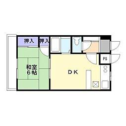 Dスクエア加古川[110号室]の間取り