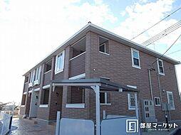 愛知県豊田市高岡町初頭の賃貸アパートの外観