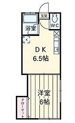 米田ビル[2階]の間取り