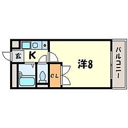 彩華III[2階]の間取り