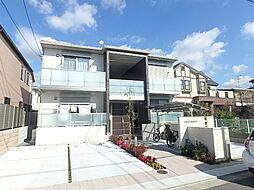 大阪府堺市西区浜寺元町1丁の賃貸アパートの外観