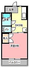 MAISON SKYHAWK[2階]の間取り