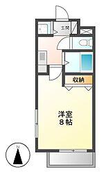 エルスタンザ鶴舞公園[5階]の間取り