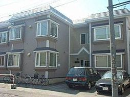 北海道札幌市白石区栄通8丁目の賃貸アパートの外観