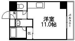 セントポーリアカルーア[5階]の間取り