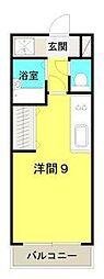 パブリックハイム2号館[6階]の間取り