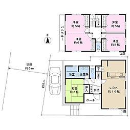 都営三田線 高島平駅 徒歩14分 4LDKの間取り
