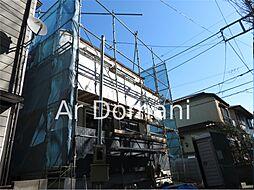 千葉県松戸市岩瀬の賃貸アパートの外観