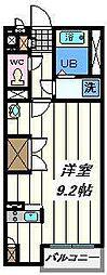 埼玉県さいたま市緑区大門の賃貸アパートの間取り