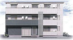 (仮称)フィカーサ戸手本町[302号室号室]の外観