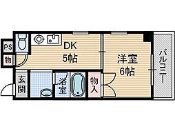 メゾンダイコー舟木[3階]の間取り