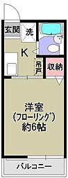 シティハイムフヂエールIII[2階]の間取り