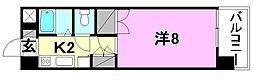 メゾン中村3[302 号室号室]の間取り
