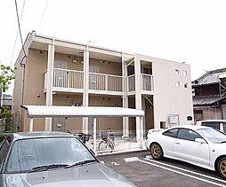 京都府八幡市下奈良今里の賃貸アパートの外観
