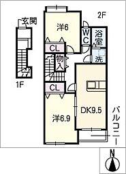 スプレンドーレ[2階]の間取り